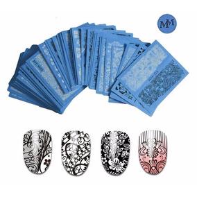 Stickers Al Agua Calados X5 - Uñas Naturales/esculpidas