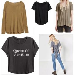 Lote Zara Y H&m X 9 Prendas Remeras Sweaters Camisas Nuevo!!