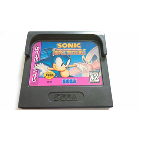 Sonic Triple Trouble Original Americano Game Gear