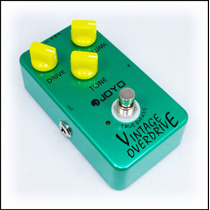 Pedal Guitarra Vintage Overdrive Joyo = Tube Screamer