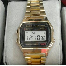 Reloj Casio Vintage Retro Dorado Unisex Dama Caballero