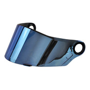 Viseira Capacete Ls2 Modelo Ff358 Original Iridium Azul