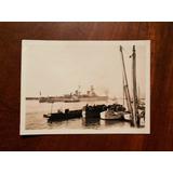Fotografia Antigua Barco Guerra Destructor Argentina 1934