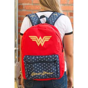 Mochila Wonder Woman Clássica Bandup!