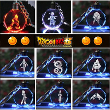Llavero Dragon Ball Z Luz Led Multicolores+ Estuche