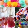 Lanterna Balão Chines Papel Seda 20cm C/20peças