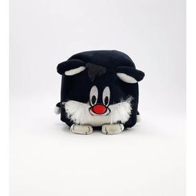 Peluche Cubo Looney Tunes Kawaii El Gato Silvestre Original
