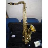 Saxofon Tenor Scala Sts100 Con Estuche Duro