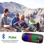Corneta Portatil Led Stereo Wireless Bluetooth Mp3