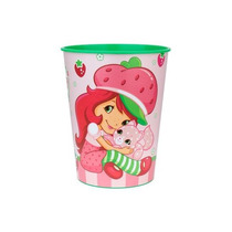 Vaso Plástico Importado Cotillon Frutillita