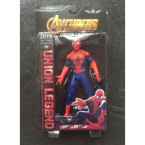 Muñecos Super Heroes Articulados Union Legend C/luz-flores