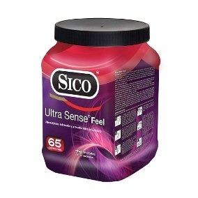 65 Condones Sico Ultra Sense En Contenedor Envio Gratis !