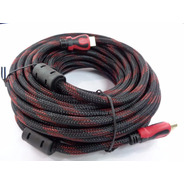 Cable Hdmi A Hdmi 15 Metros 1080p Full Hd Ficha Oro - 3d 1.4