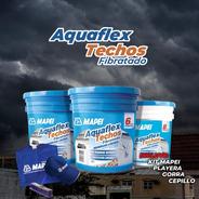 Impermeabilizante Acrílico Blanco Aquaflex Techos 5 Años