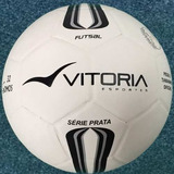 Bola Futsal Vitoria Oficial Prata Max500 - Salão d537ed36a3949