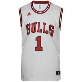 Playera Basquetbol Chicago Bulls Rose Hombre adidas L71371