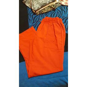 Pantalón De Verano De Dama Color Terracota Impecable ! $450