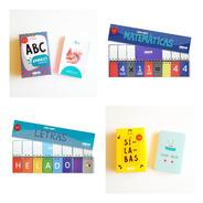 Combo De Libros Y Cartas Para Aprender A Leer Y Escribir