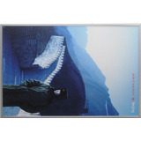 Cuadro Afiche Air Canadá Muralla China 51cmx77cm Oferta