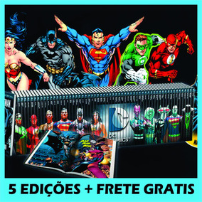 Pacote Graphic Novel 5 Eaglemoss Dc Promoção Frete Grátis