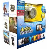 Câmera Filmadora Digital Action Camcorder Sport Prova Dágua