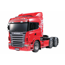 Caminhão Rc 1:14 Tamiya Scania R620 Highline 6x4 Fretegrátis