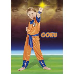 Disfraz De Dragon Ball Z Goku Talle 3