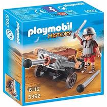Playmobil Egito Soldado Romano Com Besta 5392