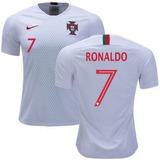 e61007b5a2 Camisa Portugal Cristiano Ronaldo Cor Principal Branco - Camisa ...