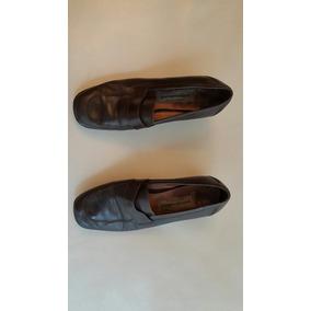 Zapatos Cuero Marrones Pasqualini Talle 37