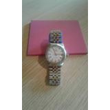 Reloj Pulsera Imitacionrolex Oyster Perpetual Combinado Dama