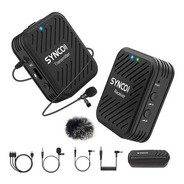 Microfone Lapela Wireless Synco Wair G1 A1 Sem Fio