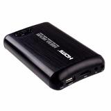 Media Movie Hard Disk Portable Media Player 2.5 Hdd Black