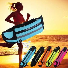 Cangurera Bolsa Gym Gimnacio Correr Mujer Impermeable Bonita