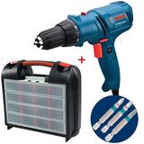 Parafusadeira Furadeira 7-14e 400w 110v +maleta+3 Bits Bosch