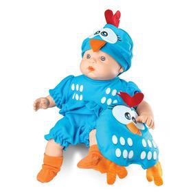 Boneca Meu Bebê - Galinha Pintadinha 34cm - Roma Brinquedos
