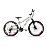 Bicicleta Aro 26 Venzo Fx3 21v Shimano Vmax Spinner Branco