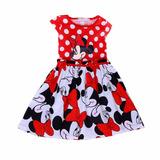 Lindo Vestido Infantil - Festa - Minnie