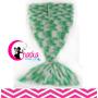 Mantas Cola De Sirena Para Bebés Tejidas A Crochet