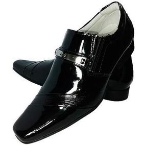 Sapato Masculino Social Couro Verniz Marca Mafisa