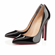Sapato Christian Louboutin Pigalle - Original Black Patent