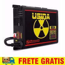 Fonte Carregador Usina 60a Bivolt Spark Carro Bateria Amper