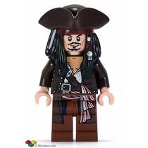 Lego Jack Sparrow Piratas Del Caribe 4195 Legobricksrfun