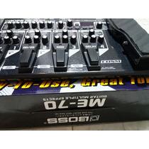 Pedaleira Boss Me-70 + Fonte + Bolsa + Nota Fiscal R$ 939,00