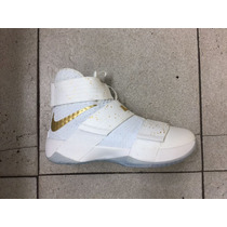 Zapatos Botas Nike Lebron James Soldier X 10 Para Damas