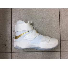Zapatos Botas Nike Lebron James Soldier X 10 Para Damas