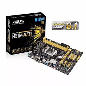 Placa Mae Intel H81m-abr 1150 S/r Microatx Asus