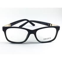 Armação Para Grau Gucci Óculos - Qualidade