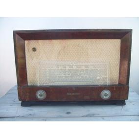 Antigua Radio Valvular Rca Victor Gab Madera Coleccionista