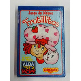 Naipes Cartas Frutillitas Alba 3d Wow Cromy 1994 Impecables